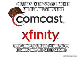 Comcast Meme - scumbag comcast on demand memes quickmeme