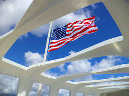 Flag Half Mass Today As A Canadian Visiting The Uss Arizona Memorial At Pearl Harbor