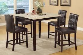 bar height dining room table