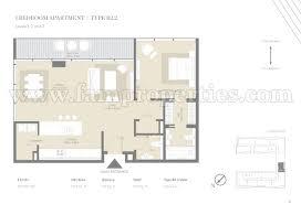 1 Bedroom Apartment Floor Plans by Floor Plans City Walk Jumeirah By Meraas