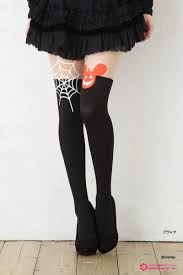 halloween thigh highs bisokuhanamai rakuten global market halloween mickey knee high