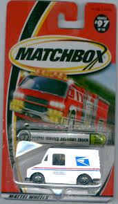 postal vehicles amazon com matchbox 2000 97 postal service delivery truck on the