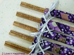 wedding gift japan japanese chopsticks wedding favors favors favors