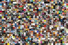 my photo album album cover collage from itunes library