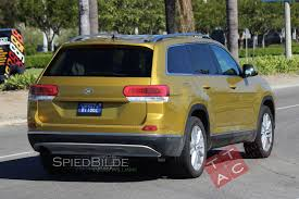 vw jeep again looking at spied is this a three row volkswagen suv with barely anything on