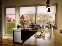 Kitchen Window Treatments Ideas Captivating Window Treatment Ideas For Kitchen With Modern