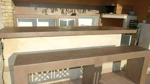 faire un plan de travail cuisine plan de travail exterieur beton cuisine extacrieur plan de travail
