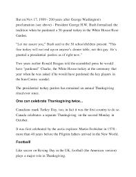 thanksgiving what s the history of the and why does the unite