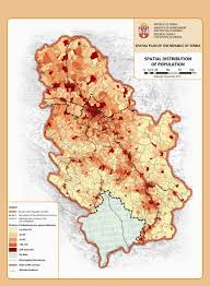 Map Of Serbia Republic Agency For Spatial Planning Spatial Plan For The