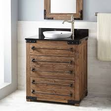 Bathroom Vanity Rustic - bathroom rustic bathroom cabinet design with weathered wood