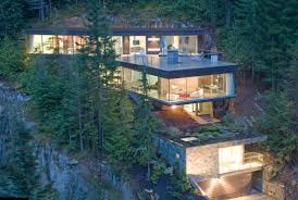 slope house plans steep slope house design canada most beautiful houses home