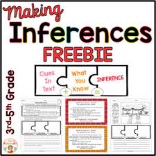 inferences printables free by kirsten u0027s kaboodle tpt