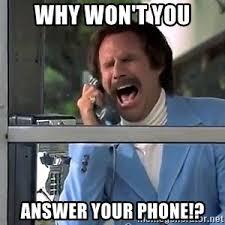 Answer Your Phone Meme - phone booth scream meme generator