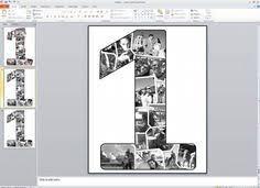 1st year anniversary ideas 1st annivesary photo collage tutorial