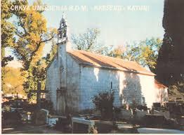 Stara župna crkva Uznesenja Blažene Djevice Marije u župi Katuni-Kreševo