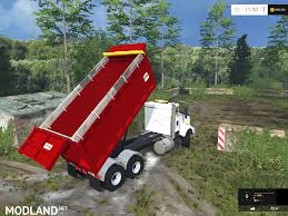 2015 kenworth dump truck kenworth dump v 1 0 mod for farming simulator 2015 15 fs ls