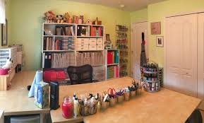 Jennifer Mcguire Craft Room - craft organization craft critique