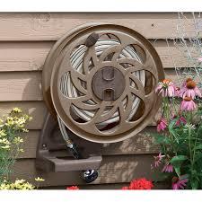 water hose reel wall mount suncast side tracker wall mount hose reel sta125b portable