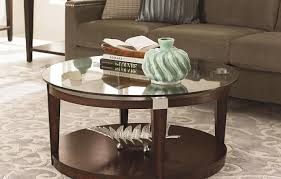 coffee tables infatuate round oak coffee table with storage
