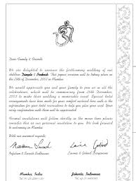 wedding wishes letter format pre invitation letter format hotel and accommodation tourism