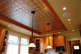 Tin Ceiling Panels by Tin Ceiling Tiles As Backsplash Tin Ceiling Panels For Great