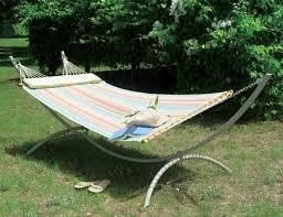 pawleys island steel hammock stand wishbone combo