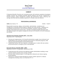 Sample Actuary Resume by Jerry Turner Resume V3