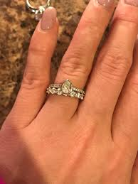my wedding band large wedding band with small er e ring preferably