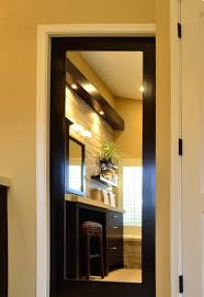 Bathroom Pocket Doors Bathroom Pocket Door With Mirror Bathroom Pocket Doors Mirrored