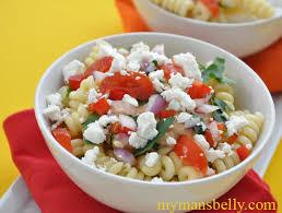 cold pasta dish easy pasta salad recipe mediterranean pasta my man s belly