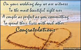 newly married quotes wedding card quotes and wishes congratulations messages