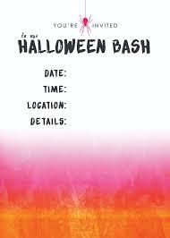 Free Halloween Invitations Templates Printable by Free Halloween Party Printables U2013 The Blissful Bee
