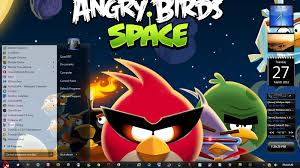 space themes for windows 8 1 angry birds space theme for windows 7 windows 8 the947