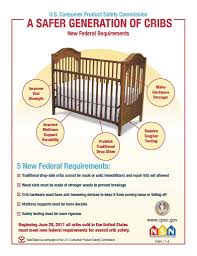 Are Mini Cribs Safe by Crib Rules Poster Baby Safe Homes New Jersey Babyproofers