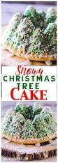 this beautiful snowy christmas tree cake is simpler than you think
