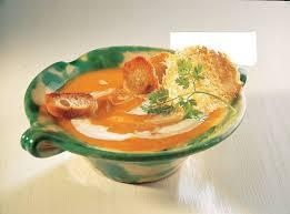 tuile cuisine recette velouté de potiron tuiles de parmesan