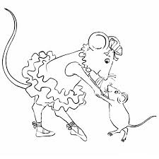 Angelina Ballerina Coloring Pages To Download And Print For Free Ballerina Printable Coloring Pages