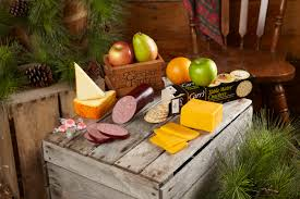 sausage gift baskets gourmet cheese and sausage gift basket variety packthe