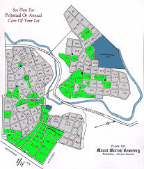 Arlington Cemetery Map How To Help Friends Of Mount Moriah Cemetery