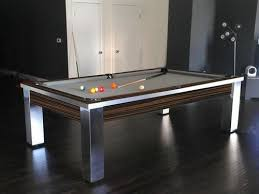 modern pool tables for sale contemporary stainless steel pool tables pool table designs