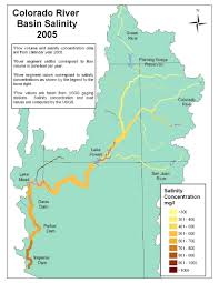 Colorado River Basin Map by Mission 2012 Clean Water