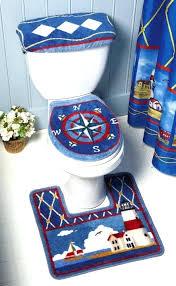 Nautical Bathroom Rugs Nautical Bath Rugs Jeux De Decoration
