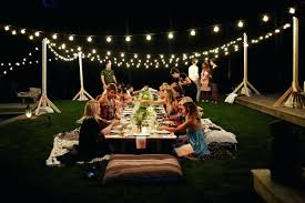 Lighting Ideas For Outdoor Patio by Patio Ideas Radiant Patio Party Lights Outdoor Party Lighting