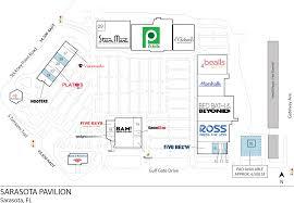 Pavilion Floor Plans by Sarasota Fl Sarasota Pavilion Retail Space Inventrust