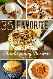 35 of our favorite thanksgiving desserts