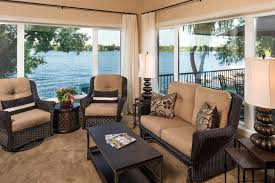 minneapolis glider chairs porch traditional with water view tropical