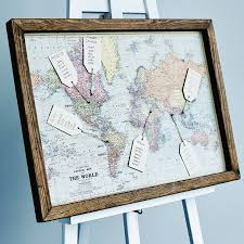 World Map Poster With Pins by Map Wedding Table Plan By The Wedding Of My Dreams