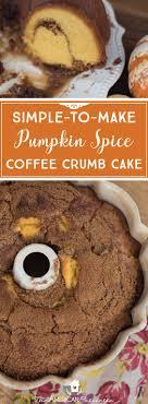 pumpkin spice for coffee pumpkin spice coffee crumb cake the american patriette
