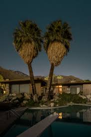 Moonlight Landscape Lighting by Midnight Modern Focusing On The Modernist Houses Of Palm Springs