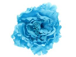 light blue flowers light blue flower hair clip buy 1 get 1 free